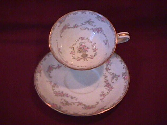 Noritake Fine China (Windsor)=#5924 Cup & Saucer