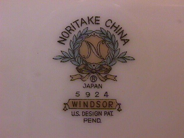 Noritake Fine China (Windsor)=#5924 Cup & Saucer