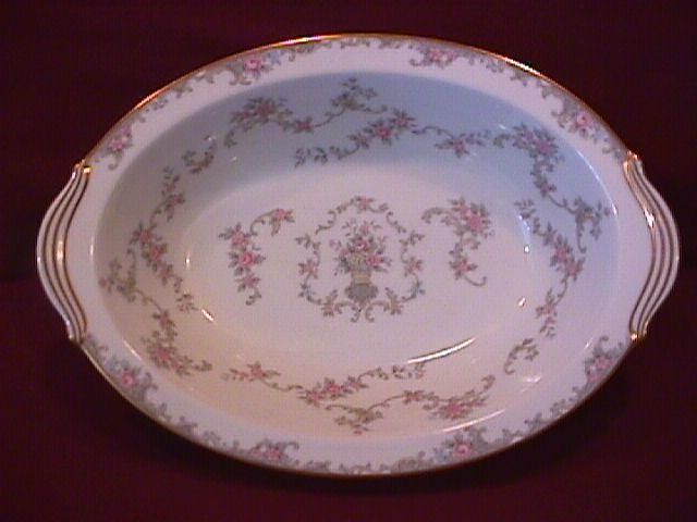 Noritake Fine China (Windsor)=#5924 Oval Vegetable
