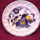 Spode China (Blue Bird)=#S-3274 Salad Plate