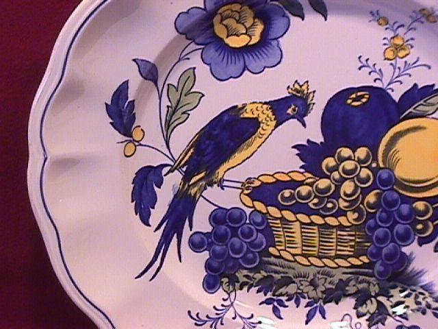 Spode China (Blue Bird)=#S-3274 Oversize Cup & Saucer