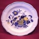 Spode China (Blue Bird)=#S-3274 Creamsoup Saucer Only