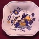 Spode China (Blue Bird)=S-3274 Square Vegetable
