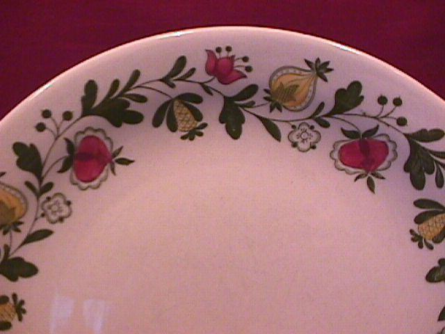 Johnson Brothers (Gretchen)=Green Cup & Saucer