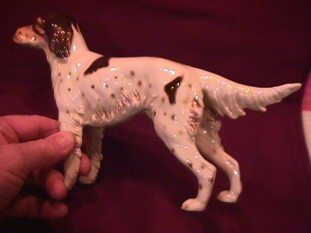Goebel Porcelain Large English Setter Dog