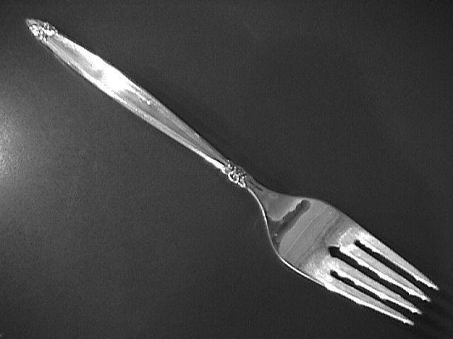 International 1847 Rogers Silver Plate (Garland) Salad Fork