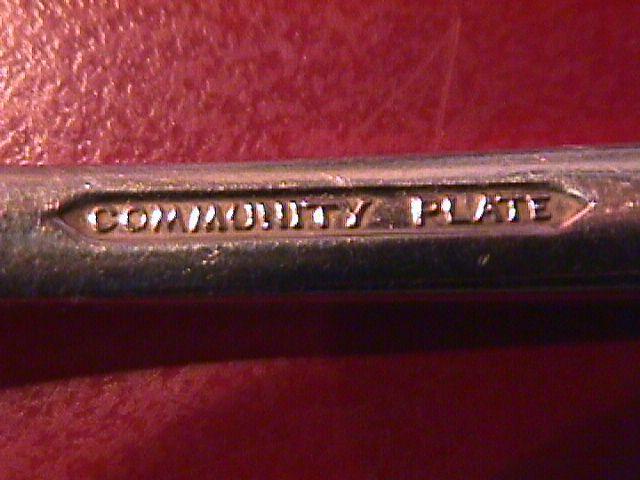 Oneida Silver Plate Community (Paul Revere 1927) Master Butter Knife