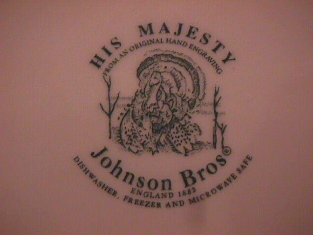 Johnson Brothers China (His Majesty) Salad Plate