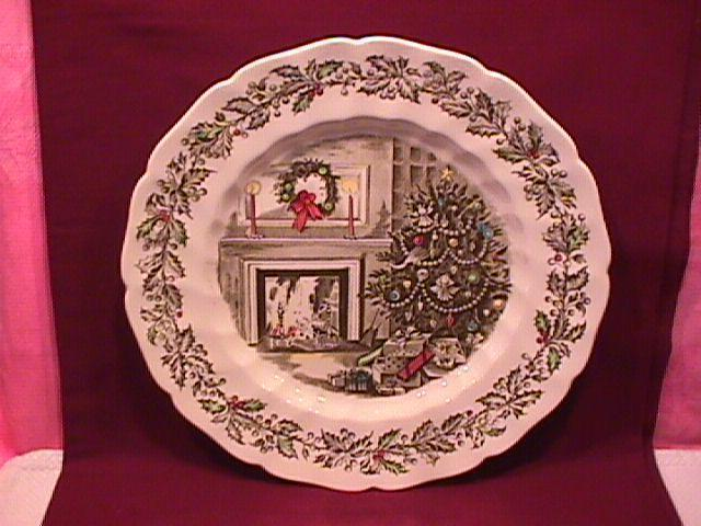 Johnson Brothers China (Merry Christmas) Dinner Plate
