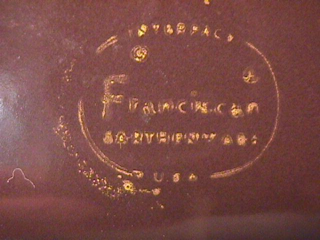 Franciscan (Madeira) Ham Platter