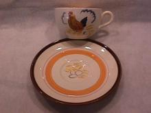 Stangl Pottery (Country Life) Cup & Saucer