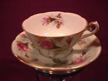 Shanford Porcelain Demitasse Cup & Saucer