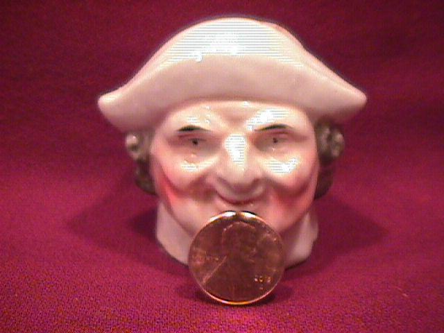 Miniature Porcelain (Toby Style Penny Bank)