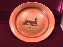 Bauer (Covered Wagon-Montana) Display Plate
