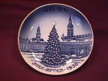 Bing & Grondahl (Christmas Plate)=1992