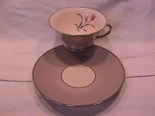 Franciscan Fine China (Claremont) Cup & Saucer