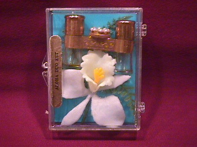 Hawaiian Souvenir=White Ginger Duo Perfume Binoculars