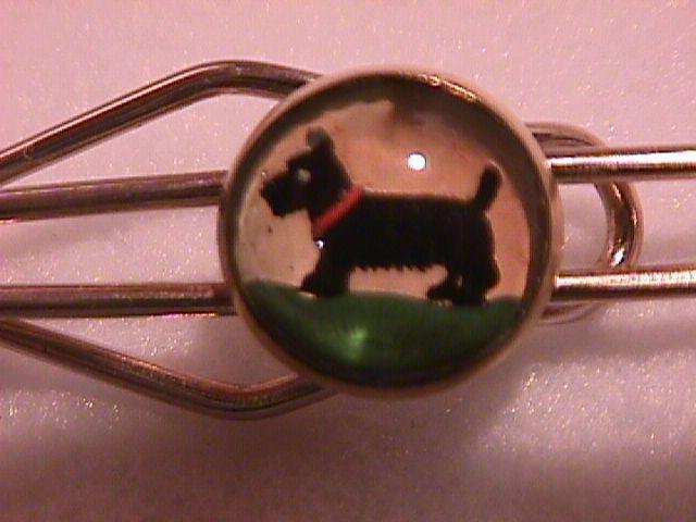 Vintage (Scottie Dog) Paperweight Tie Bar