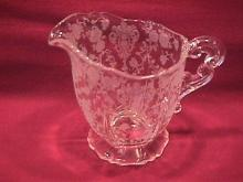 Cambridge Crystal (Rosepoint  #3400-68) Creamer