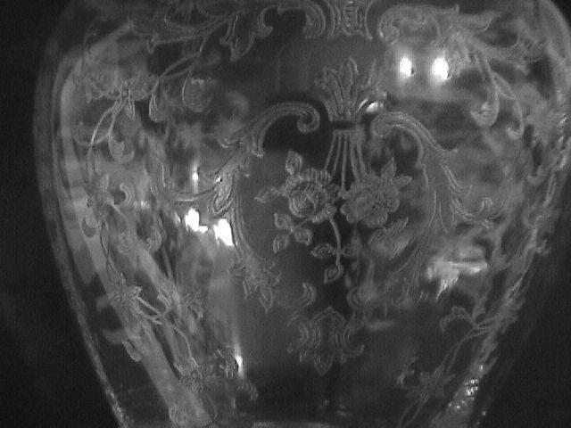 Fostoria Crystal (Navarre) #4121 Sweet Pea Vase