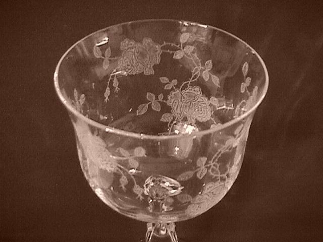 Fostoria Crystal (Willomere) Goblet