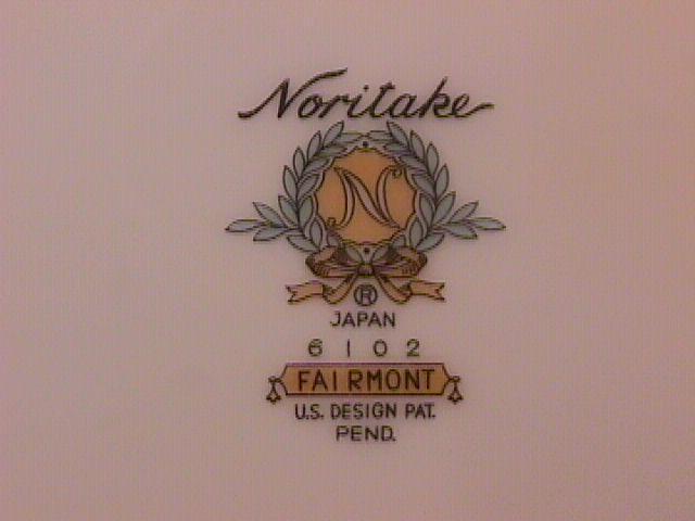 Noritake Fine China (Fairmont) #6102-3=Cake Plates