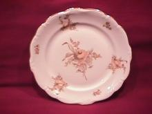 Johann Haviland Fine China (Sepia Rose) Salad Plate