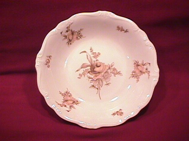 Johann Haviland Fine China (Sepia Rose) Soup Bowl