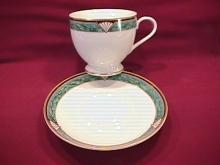 Gorham Fine China (Townsend Gold) Cup & Saucer