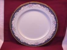 Gorham Fine China (Golden Ribbon Edge) Dinner Plate