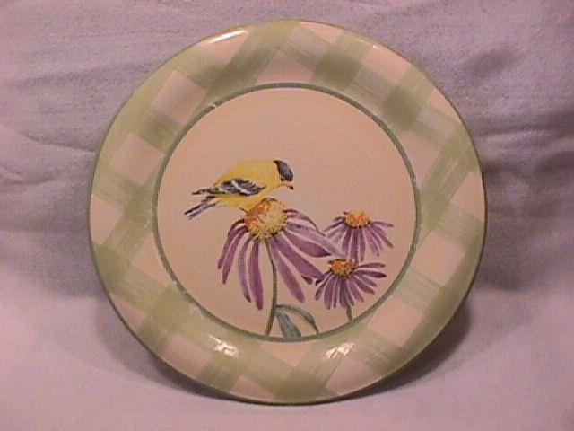 Lenox China (Summer Greetings) Dinner Plate=Goldfinch