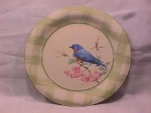 Lenox China (Summer Greetings) Dinner Plate=Eastern Bluebird