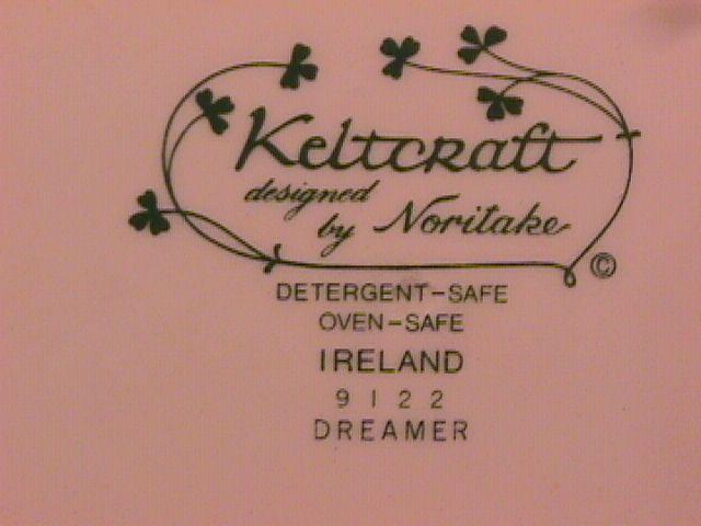 Noritake-Keltcraft-Fine China (Dreamer) Dinner Plate