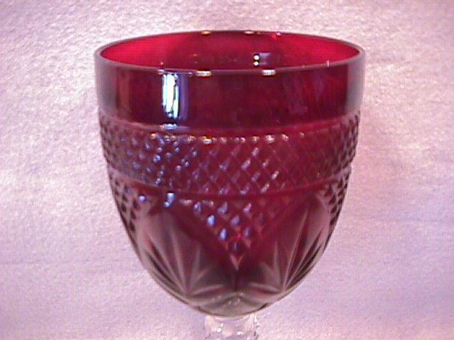 Cristal D' Arques/Durand (Antique Ruby) Goblet