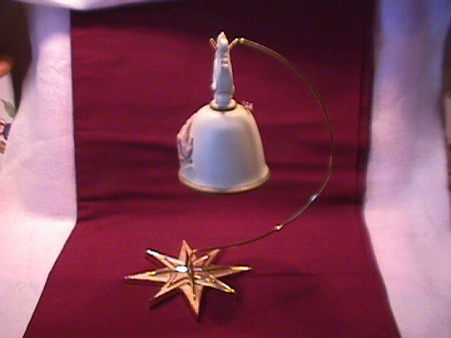 HOMCO Praying Hands Bell & Stand