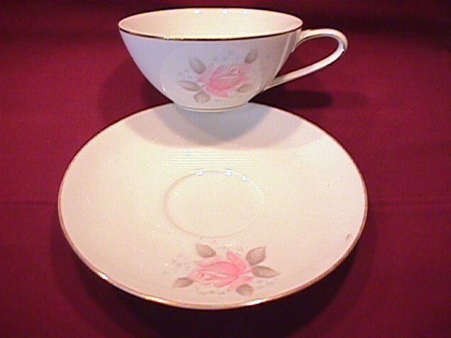 Noritake (Roseville) Cup & Saucer