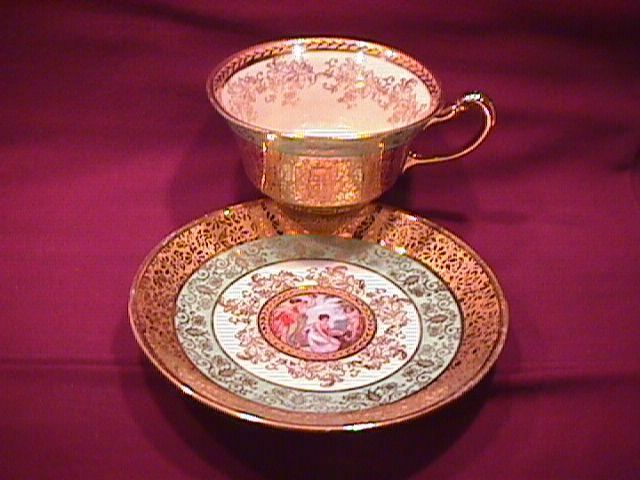 Le Mieux, USA, Fine China Cup & Saucer