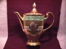 Le Mieux, USA, Fine Ornate China Covered Coffee Pot