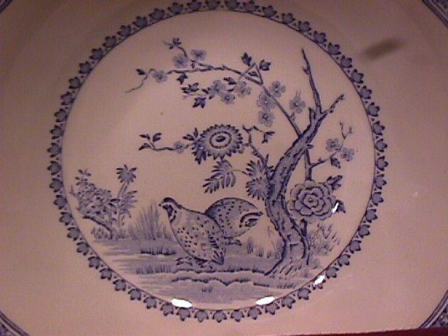 Furnivals China (Quail) Cereal Bowl