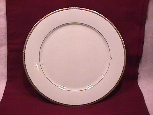 Hotel Living Fine China (Metro Platinum) Dinner Plate