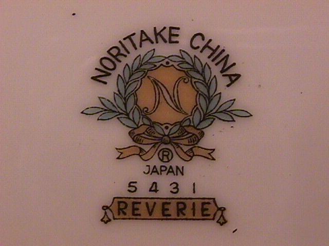Noritake Fine China (Reverie) #5431 Covered Sugar