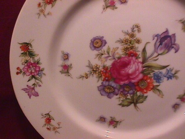Harmony House Fine China (Dresdania) 2-Cake Plates