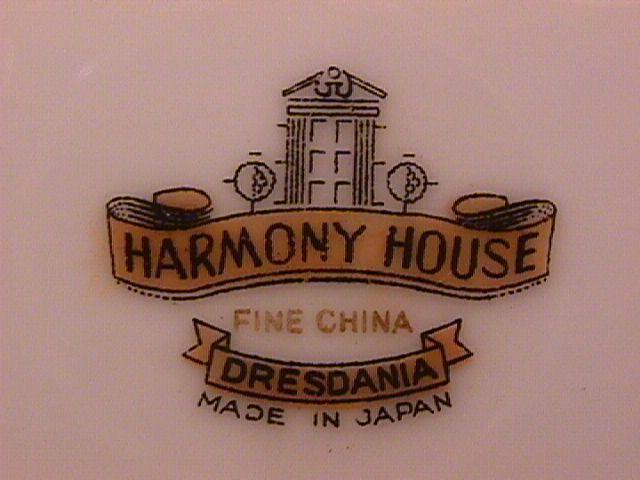 Harmony House Fine China (Dresdania) Cup & Saucer