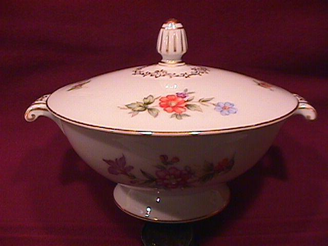 Harmony House Fine China (Dresdania) Covered Sugar