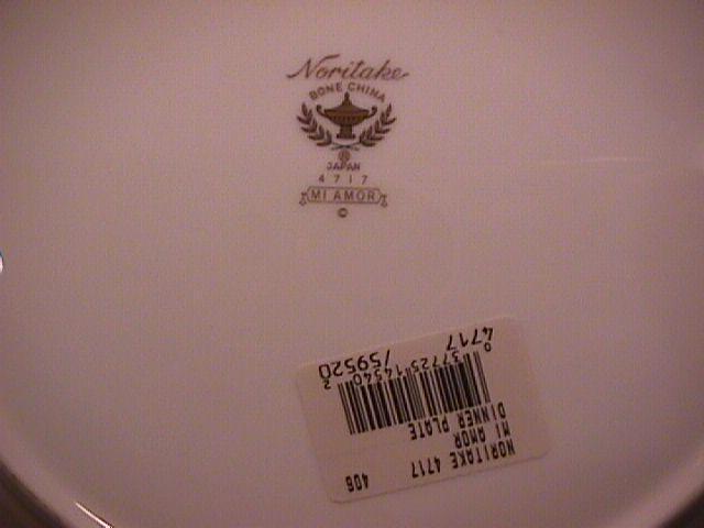 Noritake Bone China (Mi Amor) #4717 Cup & Saucer
