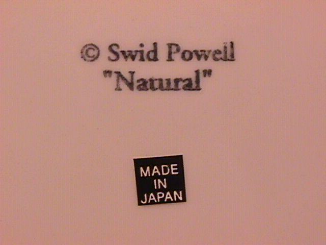 Swid Powell (Natural) Dinner Plate-Crazed