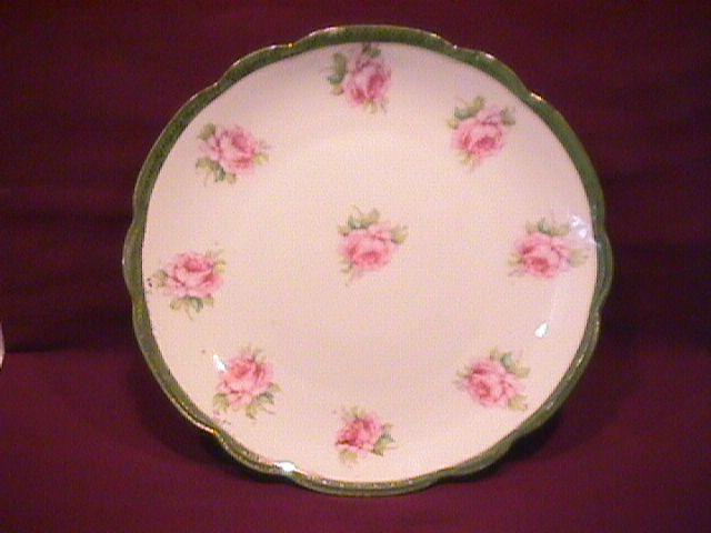 Porcelain (Open Rose) Display Plate