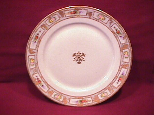 Nippon Hand-Painted RC (Wildflowers) Display Plate