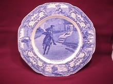Crown Ducal  (Colonial Times) Lunch Plate
