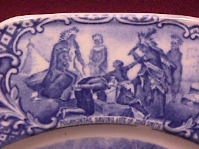 Crown Ducal  (Colonial Times) Dinner Plate